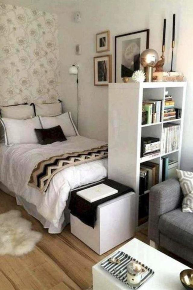 studio etudiant conseil bien etre meuble ikea separation lit et salon