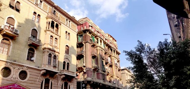 visite caire downtown architecture proximité place de l'opera immeuble haussmanien