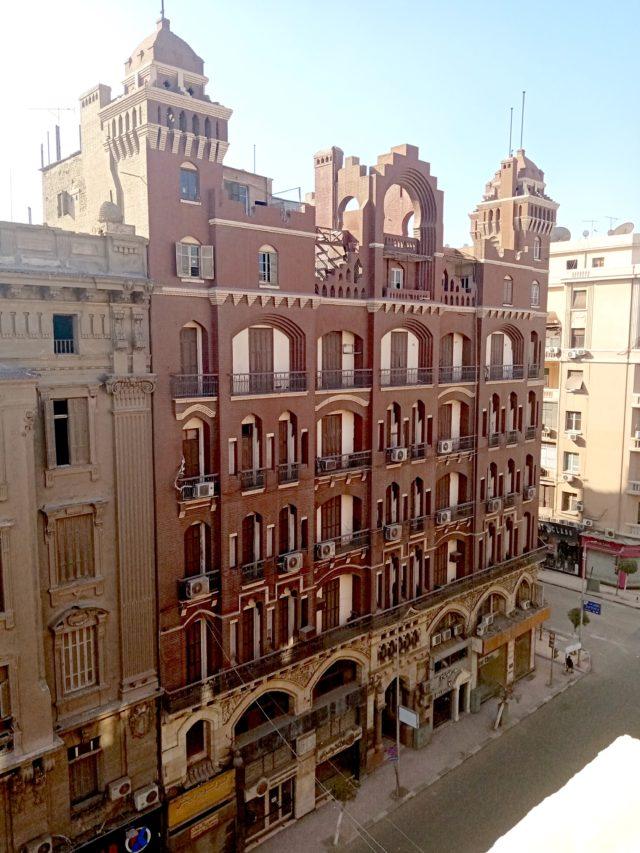 visite caire downtown architecture proximité place de l'opera