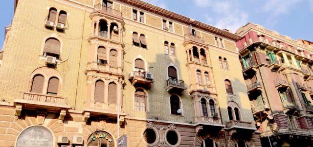 visite caire downtown architecture proximité place de l'opera immeuble haussmanien rénové