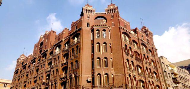 visite caire downtown architecture proximité place de l'opera immeuble
