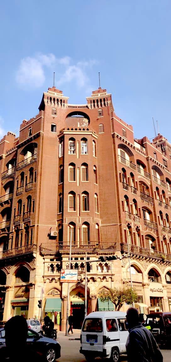 visite caire downtown architecture proximité place de l'opera immeuble grand