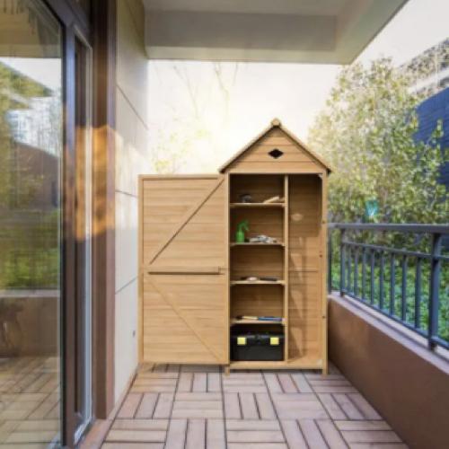 abri chalet jardin promo petit espace balcon terrasse rangement