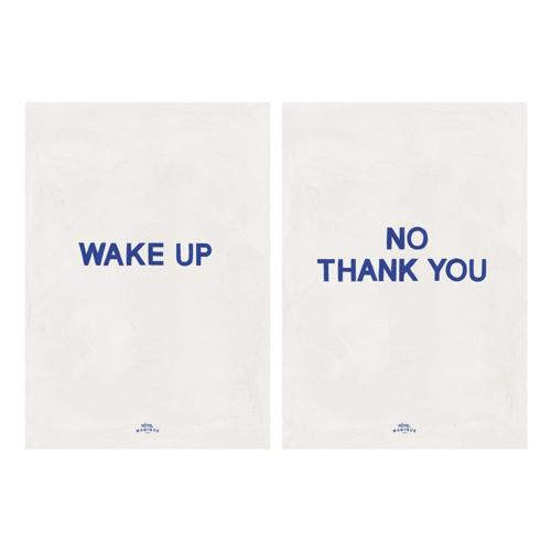 affiche deco moderne pas cher matin décalé épuré minimaliste