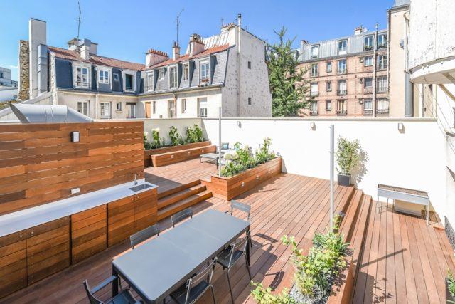 amenager toit immeuble jardin terrasse rooftop vivre mieux et bien collectif
