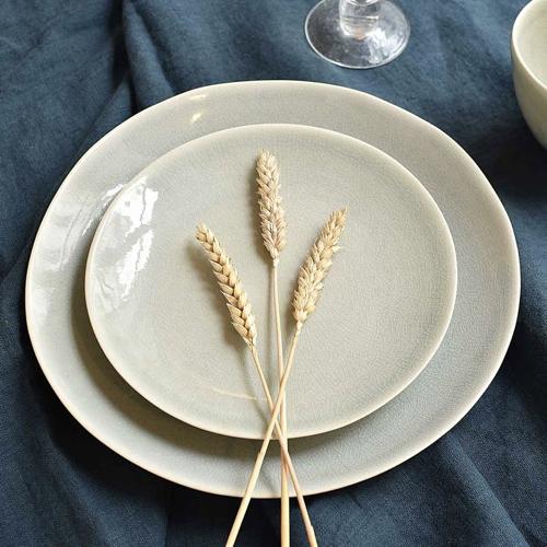 art de la table bord de mer assiette couleur lin