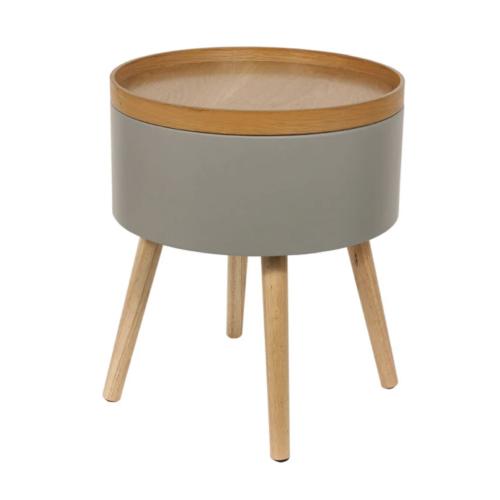 bout de canape pratique exemple rangement rond facile décoration confort salon
