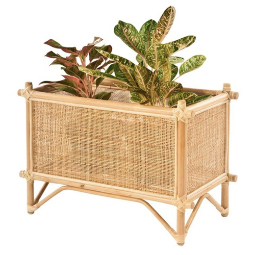 cache pot deco idee shopping jardinière cannage moderne style nature