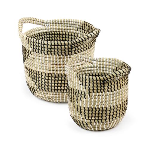 cache pot deco idee shopping panier rotin fibre naturelles