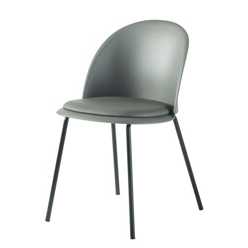 chaise deco petit budget cuisine couleur vert d'eau vert sauge moderne petit coussin