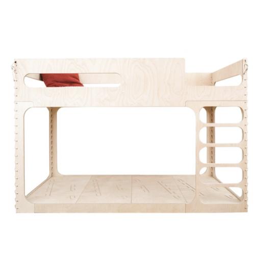 chambre enfant double lits superposés bois design écologique durable ecoresponsable