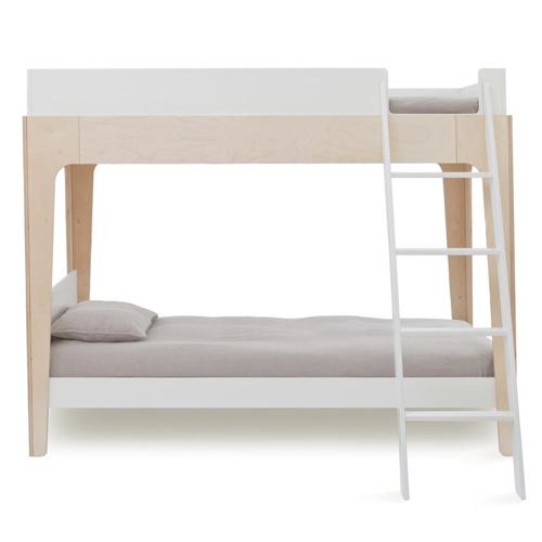 chambre enfant double lits superposés design épuré et minimaliste tendance