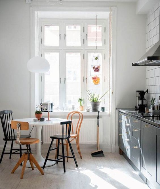 comment choisir chaise cuisine pas cher depareillees recup moderne vintage design idee exemple