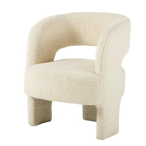 fauteuil courbe tendance slow chic beige design