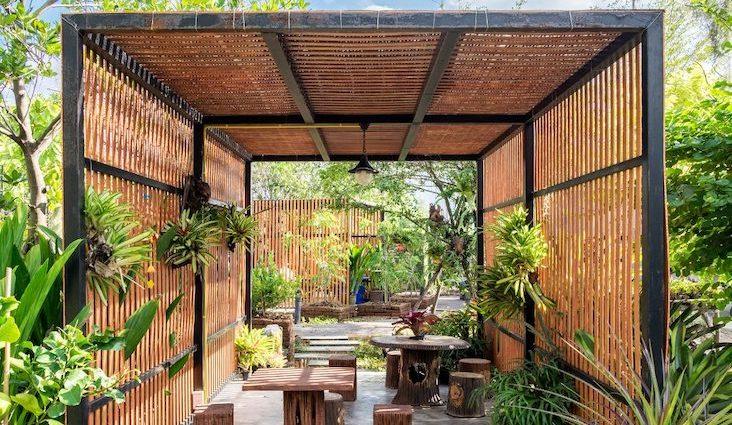 inspiration deco blog jardin maison appartement tropical voyage Asie bois chambre salon séjour cuisine