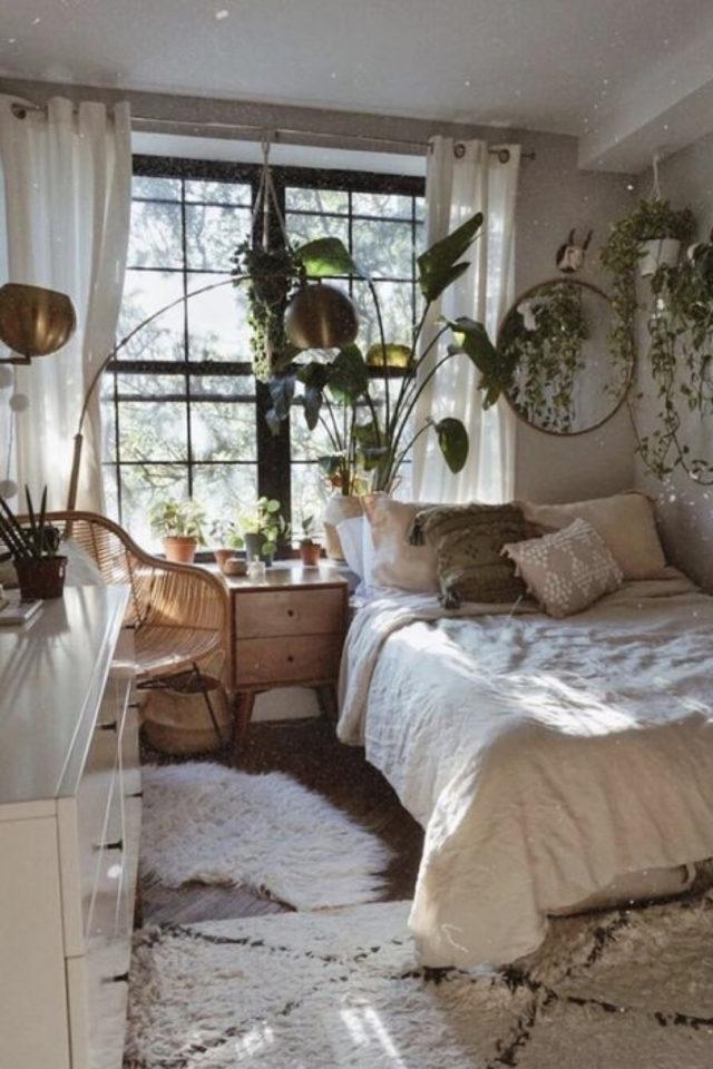 interieur aesthetic fenetre deco ambiance chambre bohème boho chic plantes vertes