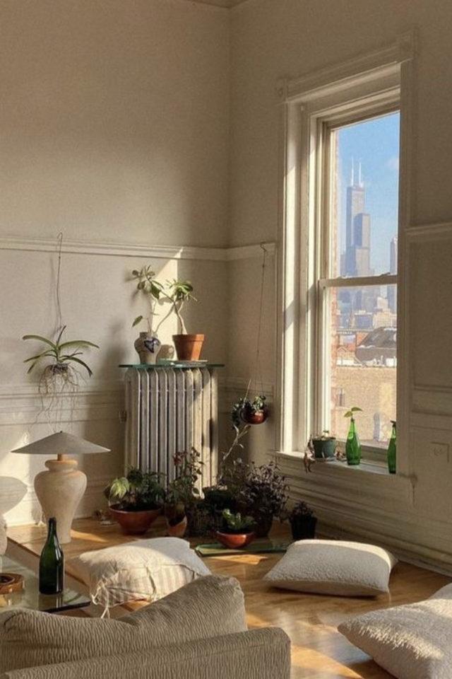 interieur aesthetic fenetre deco ambiance minimaliste salon séjour