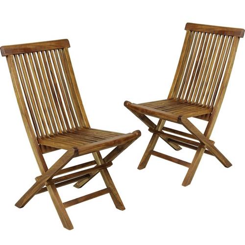 jardin tropical exemple mobilier chaises extérieur bois exotique