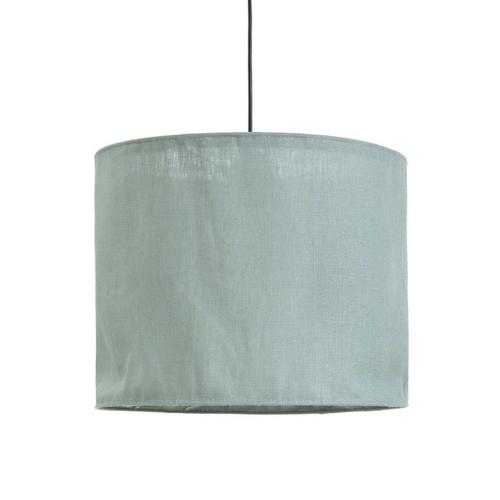 luminaire chambre enfant couleur suspension abat-jour tissus vert