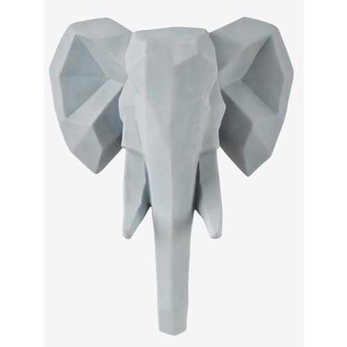 luminaire chambre enfant couleur trophee lumineux elephant gris