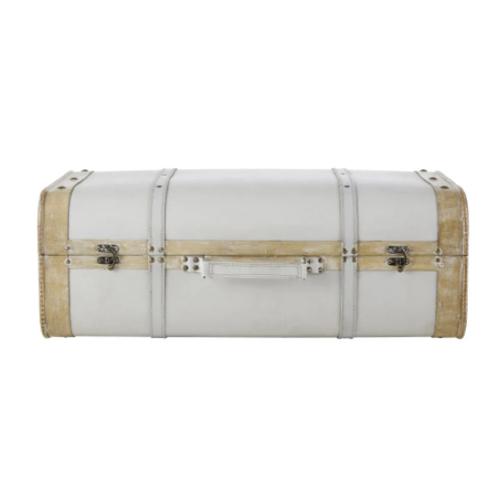 meuble chambre style bord de mer valise rangement style rétro vacances