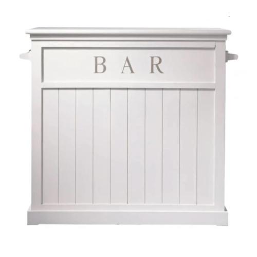 meuble salle a manger bord de mer meuble bar lambris blanc