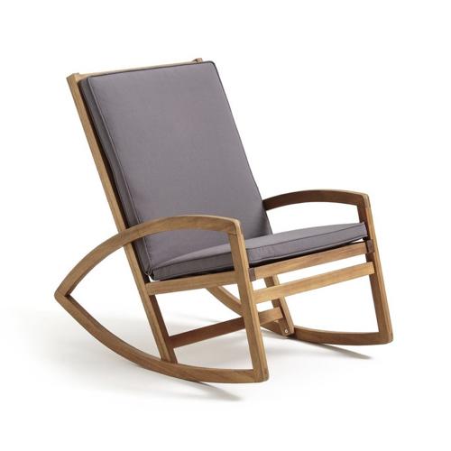 mobilier petit balcon exemple fauteuil à bascule pour jardin extérieur