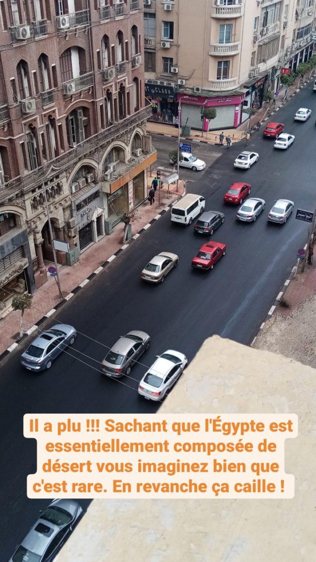 nomade egypte quotidien 2021 méteo pluie froid