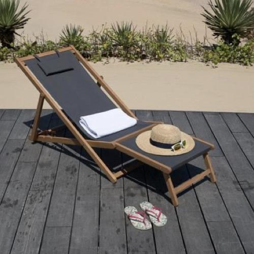 ou trouver bain de soleil pas cher transat repose pied confort cosy vacances été jardin