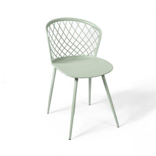 ou trouver chaise cuisine moins 50 euros moderne couleur vert d'eau vert céladon