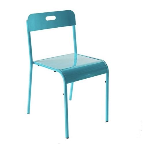 ou trouver chaise cuisine moins 50 euros style vintage années 80 90 bleu simple