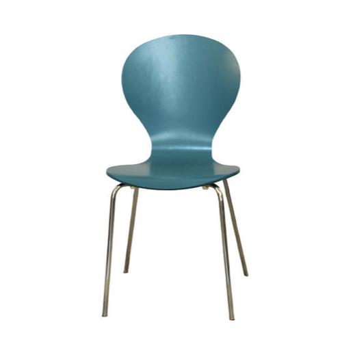 ou trouver chaise cuisine moins 50 euros bleu canard piètement métal