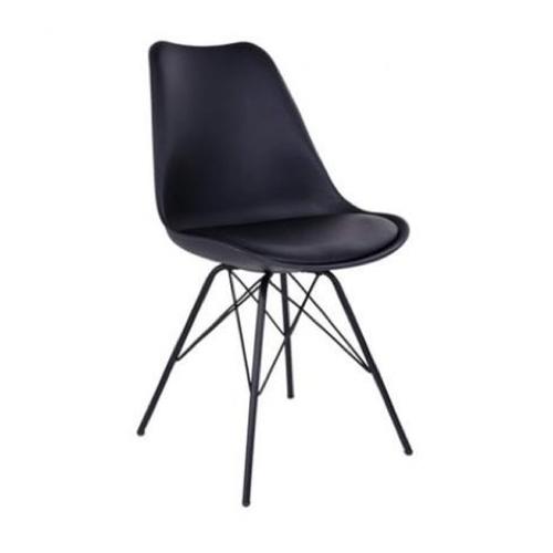 ou trouver chaise cuisine pas cher design scandinave minimalisme noir pied original