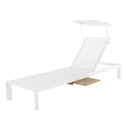 ou trouver chaise longue deco protection soleil bain de soleil blanc jardin terrasse confort été vacances