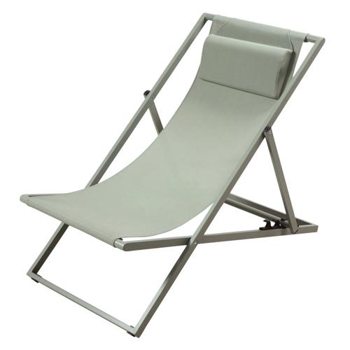 ou trouver chaise longue deco transat chilienne vert sauge amande tendance moderne pliant vacances confort