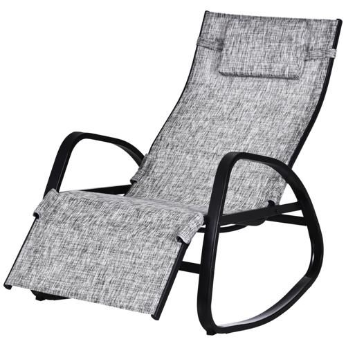 ou trouver chaise longue deco transat à bascule jardin extérieur terrasse piscine confort