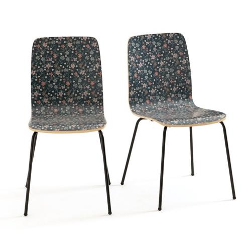 ou trouver chaise tabouret coin repas imprime fleur deco moderne etudiant