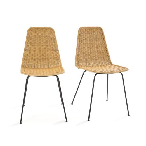 ou trouver chaise tabouret coin repas style moderne rotin bois gain de place