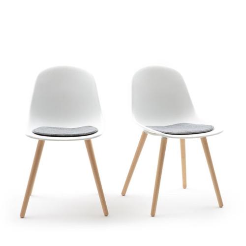 ou trouver chaise tabouret coin repas style scandinave moderne blanc gris bois