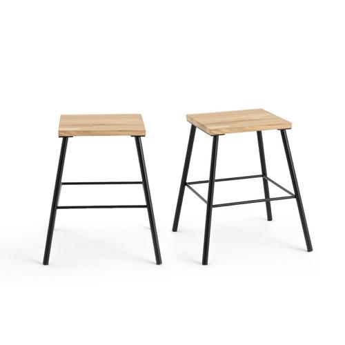 ou trouver chaise tabouret coin repas tabouret bois et métal simple