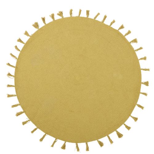 ou trouver deco chambre enfant colore tapis soleil jaune