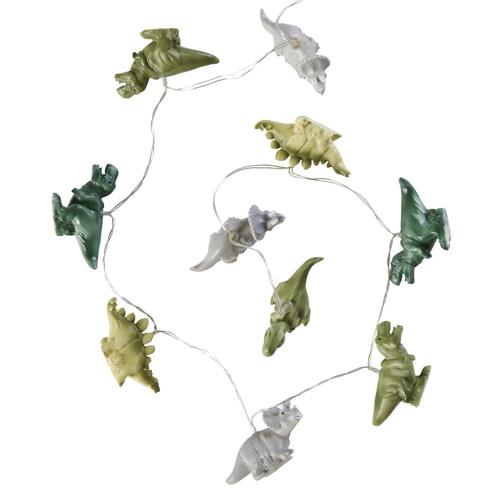 ou trouver deco chambre enfant colore guirlande lumineuse dinosaure