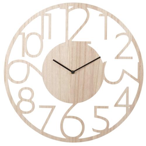 ou trouver deco murale pas cher horloge murale bois épurée slow déco