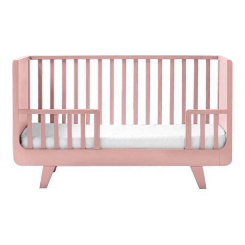 ou trouver lit enfant couleur bébé berceau à barreaux rose