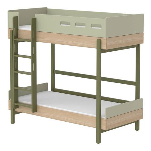 ou trouver lit enfant couleur vert tendance superposés échelle
