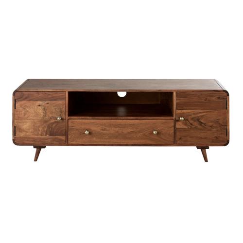 ou trouver meuble tv annees 50 tiroir et porte