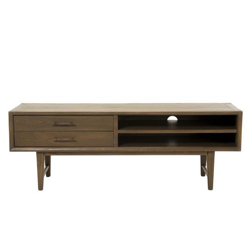 ou trouver meuble tv mid century tiroir et niche année 50