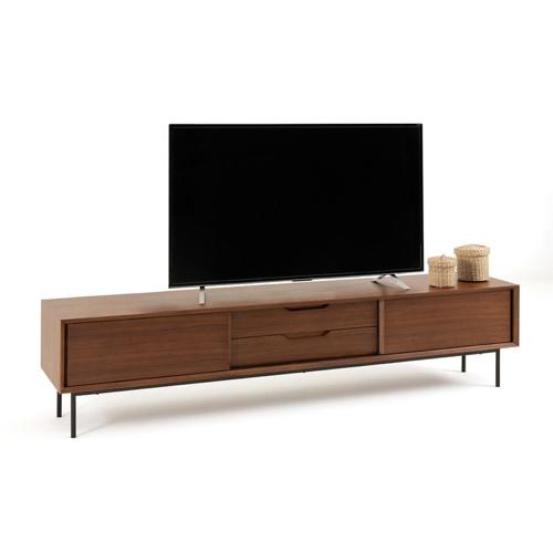 ou trouver meuble tv mid century enfilade vintage porte coulissante