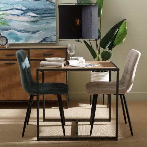 ou trouver petite table coin repas table bois et metal pas cher decoration