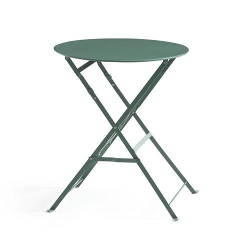 ou trouver table 2 places deco pliante couleur jardin metal